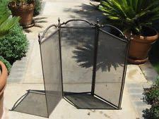 Free Standing Fireplace Screens by Unbranded Brass Fireplace Screens U0026 Doors Ebay