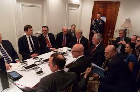 Situation Room Meme - president trump s situation room photo becomes instant meme aol news