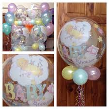 baby shower balloons blue and pink baby shower balloons ct loading arch