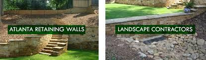 Atlanta Landscape Materials by Atlanta Landscape Atlanta Retaining Walls Landscape Contractors
