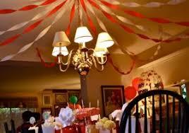 Circus Home Decor Room Decoration Idea For Birthday Birthday Home Decoration Ideas