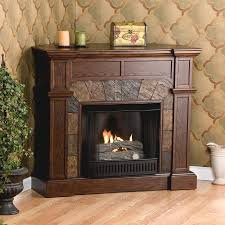 corner gas fireplace ventless corner gas fireplace with walnut