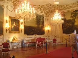 holiday vienna austria schonbrunn palace interior view