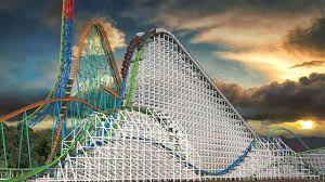 Six Flags Scary Rides Twisted Colossus A New Roller Coaster At Six Flags Magic Mountain