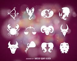 Zodiac Sign Zodiac Signs Symbols Vector Download