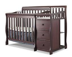 mini crib and changing table sorelle newport 2 in 1 convertible mini crib changer ebay