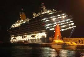 carnival paradise cruise ship sinking passengers panic as costa concordia cruise ship begins to sink