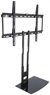 Brackets For Glass Shelves by Wall Mounted Tv Bracket With Glass Av Shelf 6mm Thick