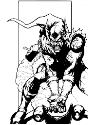 spider man bad guy coloring u0026 coloring pages