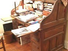 vintage roll top desk value antique roll top desk ebay