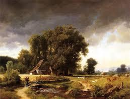 albert bierstadt westphalian landscape painting best paintings