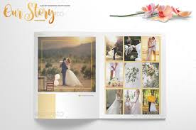 Wedding Magazine Template 8 Beautiful Wedding Photobook Templates For Designers