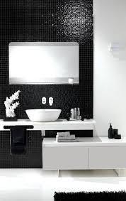 badezimmer weiß schwarz weiß fürs bad schöner wohnen