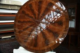 72 u0026 034 high end round mahogany dining table with duncan phyfe
