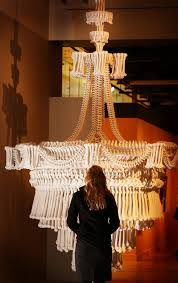 From A Chandelier Press Preview Of Death A Self Portrait Exhibition At The Wellcome