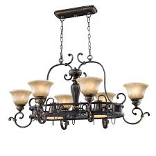 golden lighting u0027s jefferson 8 light pot rack 6029 pr62 eb