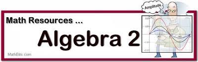 student and teacher resoureces for algebra 2 and trigonometry