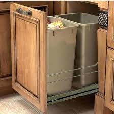 kitchen cabinet trash pull out trash drawer cabinet kitchen cabinet trash drawer built in double