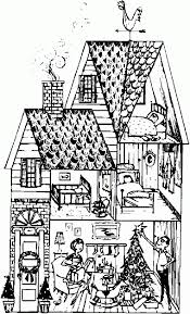 coloring page house house coloring pages murderthestout
