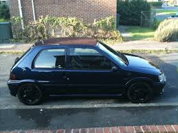 blue peugeot for sale solved mauritius blue peugeot 106 gti replica vtr 98bhp engine