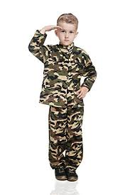 Army Halloween Costumes Boys Kids Army Boy Halloween Costume Military Soldier Recruit Camo