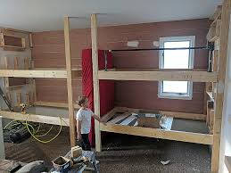 Bunk Beds For 4 Bunk Beds 4 Bunk Beds In Wall Lovely Built In Bunk Beds Album On