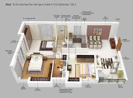 bu housing floor plans 3 bhk 1062 sq ft apartment for sale in merlin 5th avenue at rs