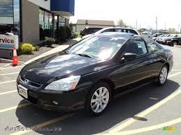 2006 black honda accord coupe 2006 honda accord ex v6 coupe in nighthawk black pearl 000391