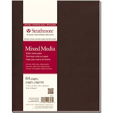 strathmore writing paper amazon com strathmore softcover mixed media journal 7 75 by amazon com strathmore softcover mixed media journal 7 75 by 9 75 inch 64 pages multimedia surface paper office products