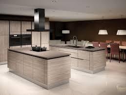 cuisine chaleureuse cuisine élégante avec îlots modèle référence chaleureuse