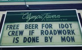 Idot Road Conditions Map Illinois Bar Offers Free Beer If Idot Finishes Roadwork