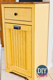 kitchen trash cabinet tilt out trash bin storage cabinet best home furniture decoration