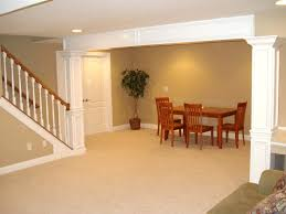 Finish Basement Stairs Finished Small Basement Ideas And Finishing Basement Stairs
