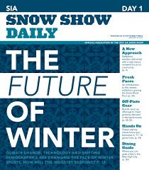 sia snow show 2017 day 1 by active interest media boulder issuu