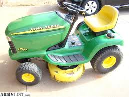 armslist for sale john deere lt133 lawn tractor mower jd