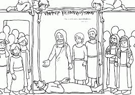 jesus heals a man by the pool coloring page coloring home