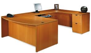 an over view of the u shaped desk jitco furniture