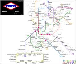 the metro map madrid metro map the college s guide to study abroad