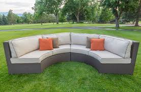 Curved Conversation Sofa by Curved Outdoor Sofa Cushions Nrtradiant Com