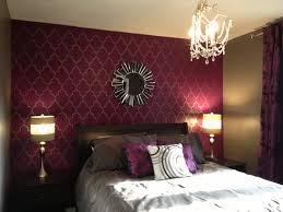 bedrooms astonishing dark purple wall paint plum bedroom decor