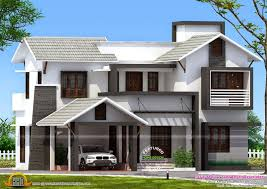 179 sqm mixed style house exterior kerala home design and floor 3d