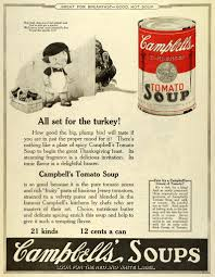 soup for thanksgiving 1922 ad joseph campbell condensed tomato soup thanksgiving turkey