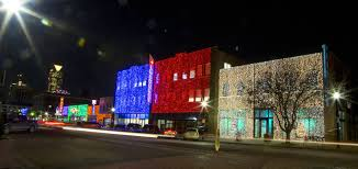 automobile alley christmas lights winter holidays travelok com oklahoma s official travel