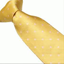 yellow with pink polka dots polka dots spots oxford tie company