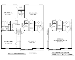Square Floor Plans by House Plan 2402 Blair Floor Plan 2402 Square Feet 280 Wide House
