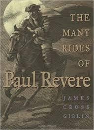 paul revere s ride book the many rides of paul revere cross giblin giblin