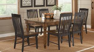 Rooms To Go Dining Room by Twin Lakes Brown 5 Pc 84 In Rectangle Dining Room Dining Room