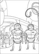 bees plane coloring free printable coloring pages
