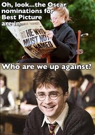 Daniel Radcliffe Meme - daniel radcliffe miffed over harry potter oscar snub smosh