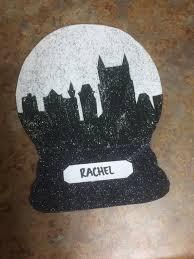 skyline snow globe door tags ra colleges pinterest door tags